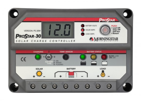 Morningstar ProStar PS-30M Solar Charge Controller