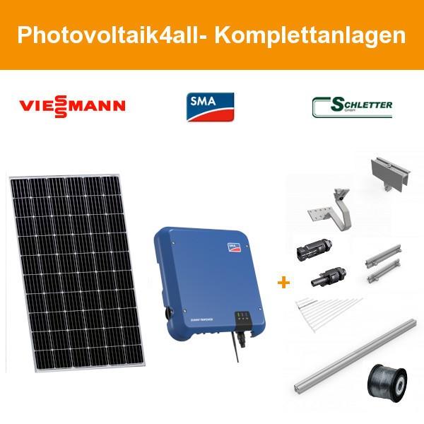 Solarpaket XL - 10 kWp Viessmann Photovoltaikanlage