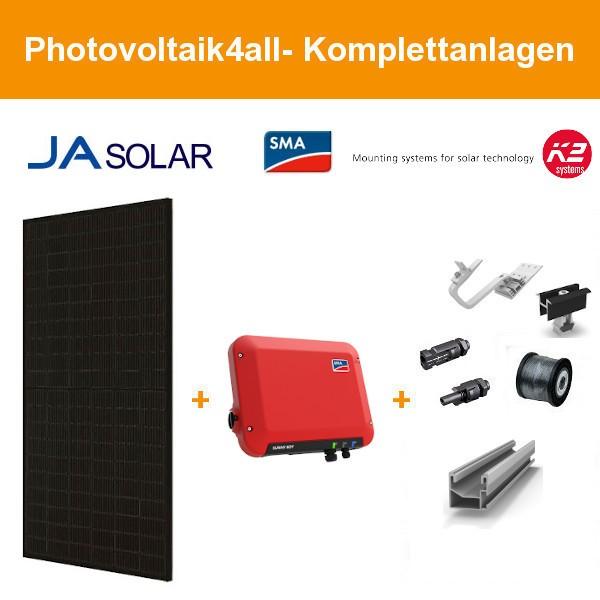 1,480 kWp JA Solar 370Wp Black - SMA Photovoltaikanlage