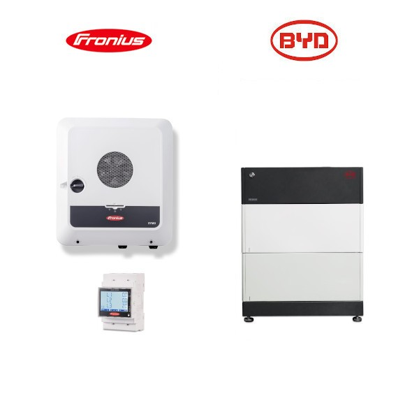 Fronius Symo GEN24 4.0 Plus + BYD B-BOX HVS Speicher-Set