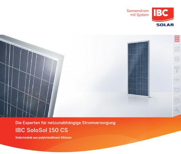 IBC SoloSol 150 CS poly