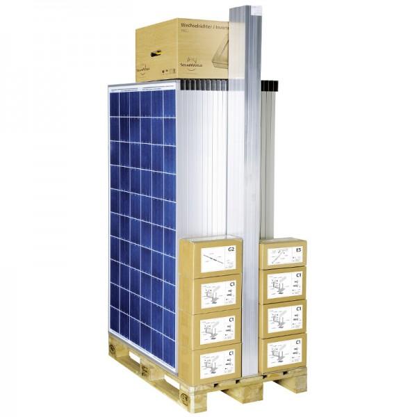 Solarworld Kit easy 3 kWp 12x SW 250 poly