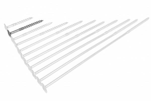 Erneuerbare Energie Befestigungsmittel 350 X Schletter Schrauben 8x100 Va Tellerkopf Torx Holz