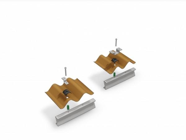 Schletter FixE Gr.1 Einfachbefestigungs Set