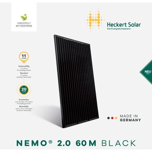 Heckert NeMo® 60 M 325 Watt (5BB) Black