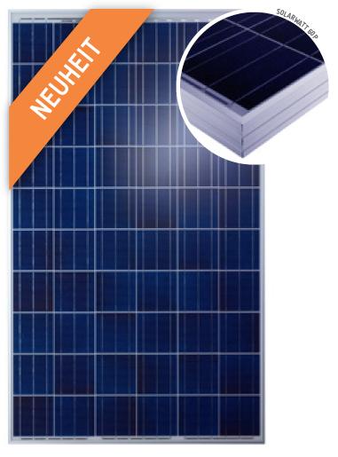 solarwatt blue 60p glas glas solarmodul 260 watt poly. Black Bedroom Furniture Sets. Home Design Ideas