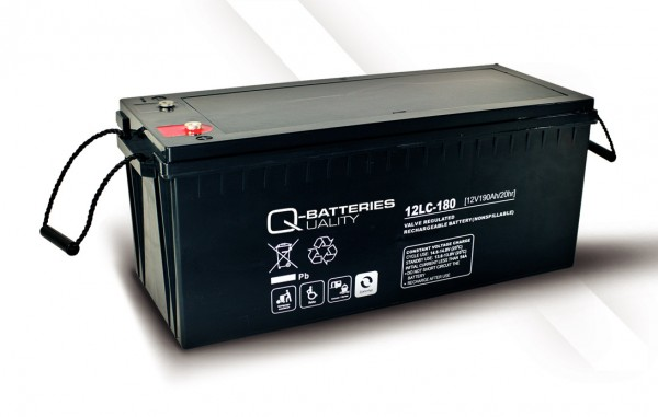 Q-Batteries 12LC-180 / 12V - 193Ah AGM Akku