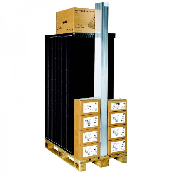Solarworld Kit easy 3 kWp 12x SW 250 black