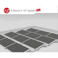 Solarenergie Intelligent Montagesystem Photovoltaik Für Biberschwanz Eindeckung Und Kabelkanal Heimwerker