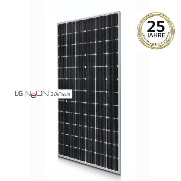 LG Solar LG410N2T-L5 NeON 2 BiFacial