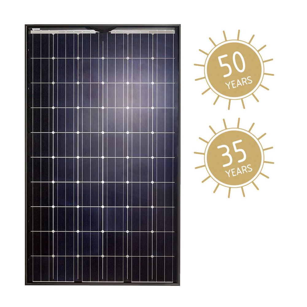 luxor secure line m60 lx 280m transparent i photovoltaik4all. Black Bedroom Furniture Sets. Home Design Ideas