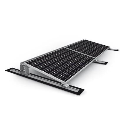 Intelligent Montagesystem Photovoltaik Für Biberschwanz Eindeckung Und Kabelkanal Befestigungsmittel
