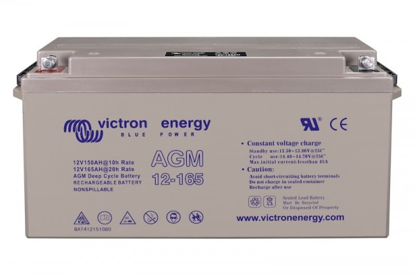Victron AGM Batterie 12V / 165Ah Deep Cycle