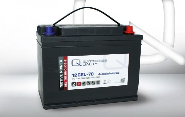 Q-Batteries 12GEL-70 / 12V - 70Ah Gel Akku
