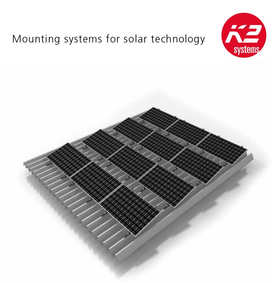 Solarenergie Intelligent Montagesystem Photovoltaik Für Biberschwanz Eindeckung Und Kabelkanal
