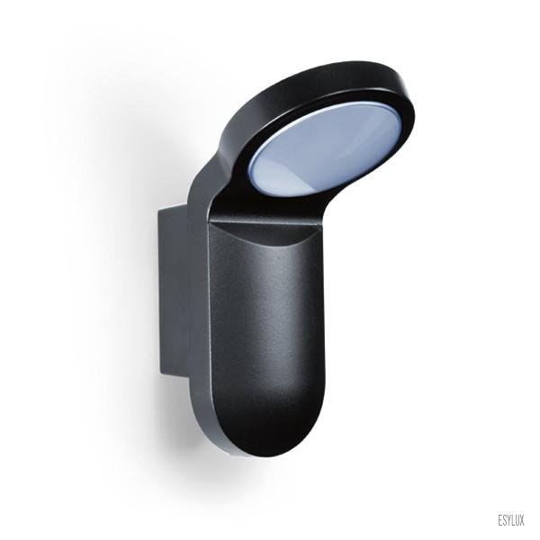 ESYLUX LED-Aussenleuchte OL 100 LED 5K schwarz