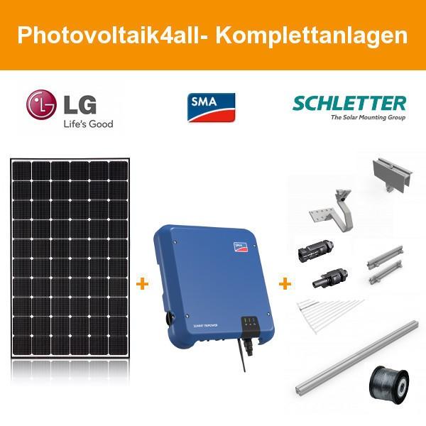 6 kWp LG Solar LG360N1C-N5 NeON 2 - SMA Photovoltaikanlage
