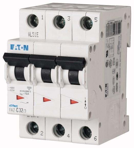 Eaton LS-Schalter C-Char 20A, 3-polig FAZ-C20/3