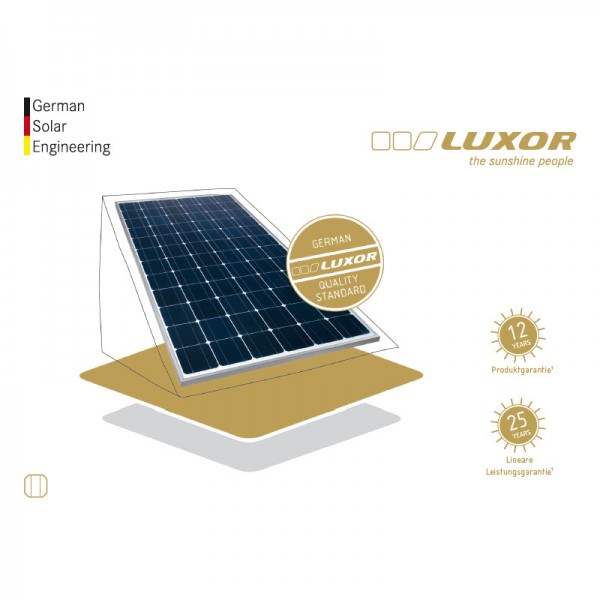 luxor eco line m72 lx 200 solarmodul i photovoltaik4all. Black Bedroom Furniture Sets. Home Design Ideas
