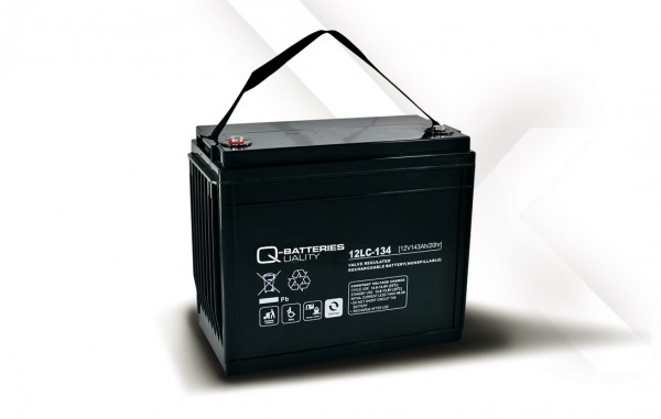 Q-Batteries 12LC-134 / 12V - 143Ah AGM Akku