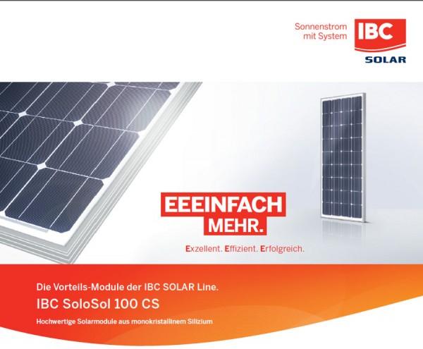 IBC SoloSol 100 CS mono