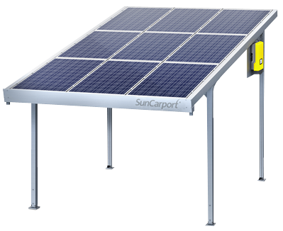 solarworld suncarport einzel 9x l ngs black 2 430 kwp carports photovoltaik4all online shop. Black Bedroom Furniture Sets. Home Design Ideas