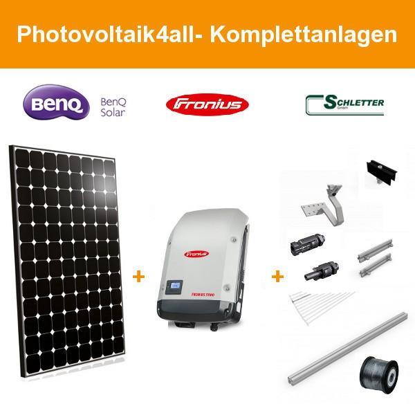 6 kwp benq solar sunforte pm096b00 335 watt. Black Bedroom Furniture Sets. Home Design Ideas