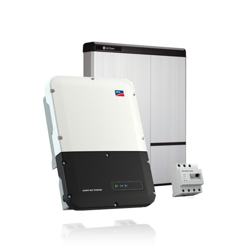 LG Chem RESU 7H (400V) - SMA SB Storage 3.7 Speicher-Set