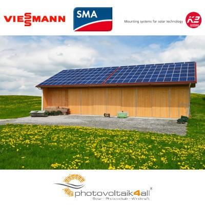 Photovoltaikkomplettanlage